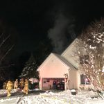 Two-Alarm Fire on Sanctuary Drive