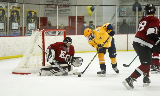 Boys Hockey: EG, Barrington Tie, 2-2