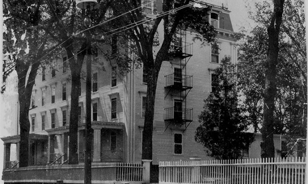 A Look Back: Fire at East Greenwich Dormitory