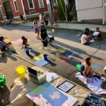 Chalk, Music, Art, Food: Just Another Summer Night in EG