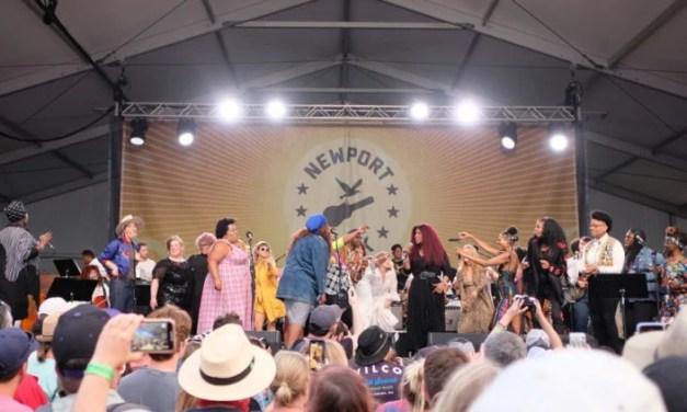 Newport Folk Festival, Days 1-3