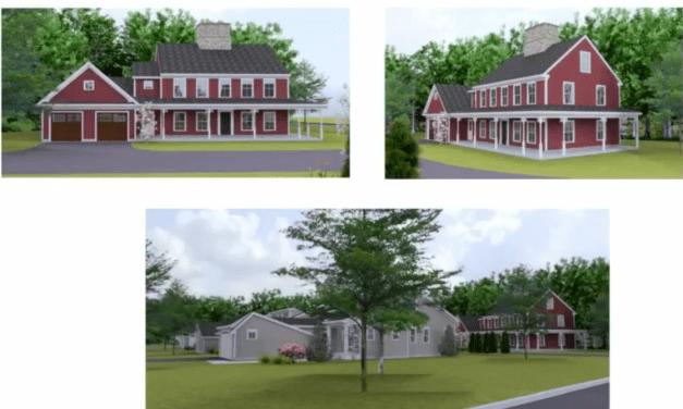 HDC Weighs Norman's Facelift, So. Pierce Farmhouse Plan, Blu 'Sound Box'