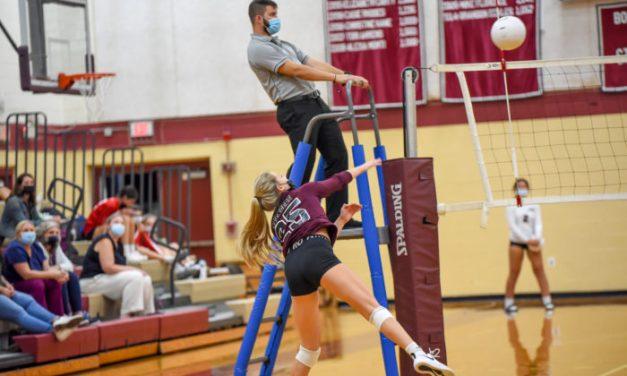 Girls Volleyball: Cranston West Over EG, 3-0