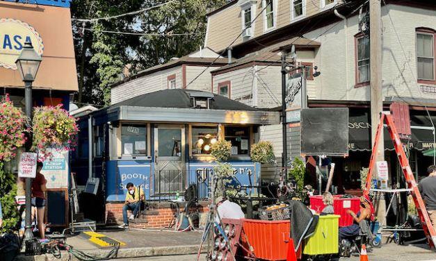 Film Crew Sets Up Shop on Main Street