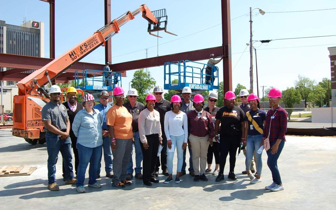 """Carpenter's Daughter and Power UP Inc. Host """"Site to See:  Hard Hat Tours"""""""