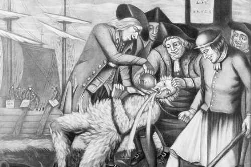 Tar and Feathering American Revolution