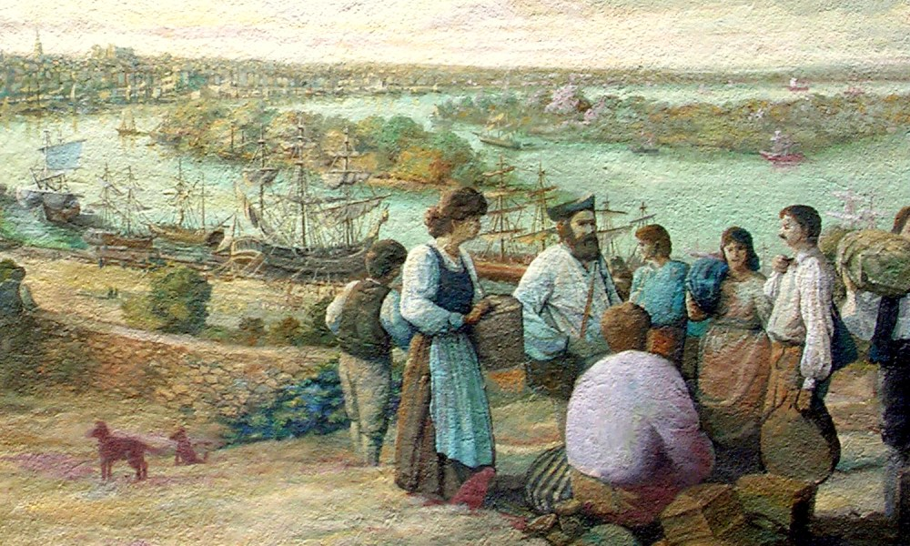 Expulsion of the Acadians