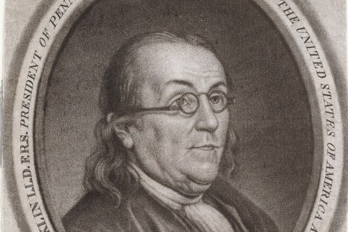 Benjamin Franklin in France