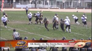 CA Quake vs NC Stars 4.12.14