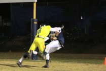 #2 Chris Alexander/WR comes down with great catch for Bulldogs first score.