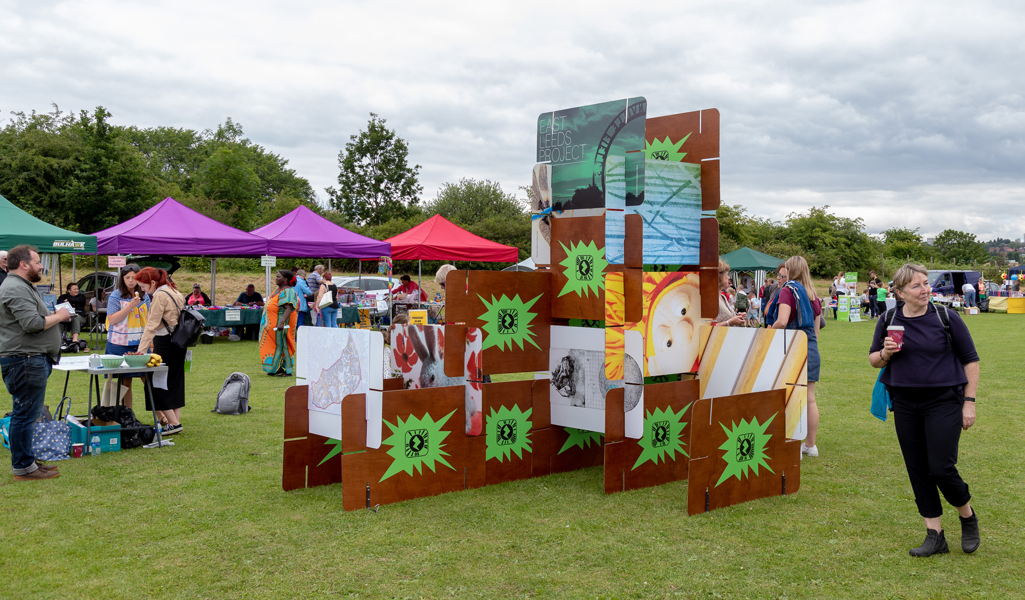 What Makes Gipton? by Andy Abbott at Gipton Gala 2019