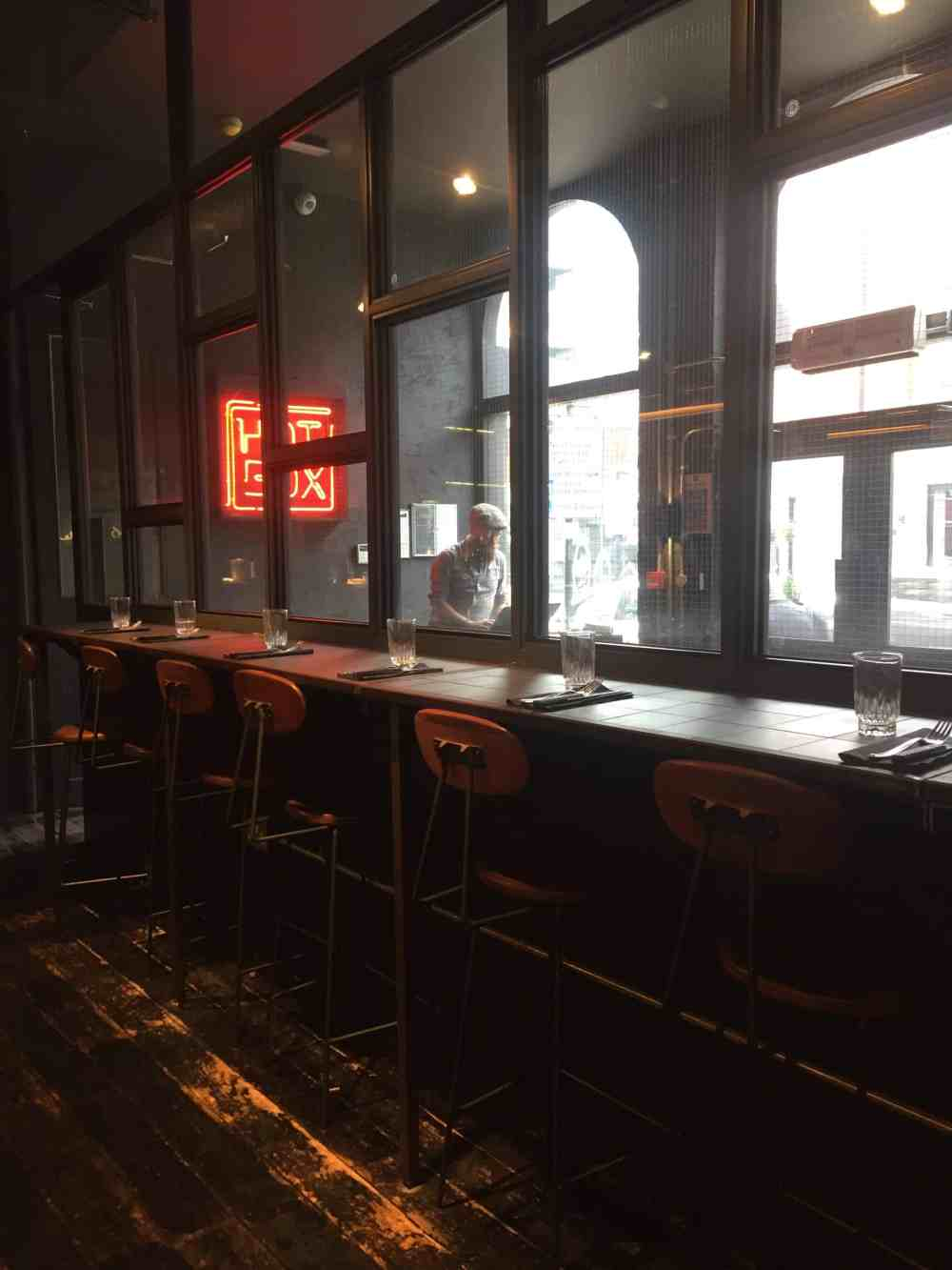 Hotbox restaurant in Shoreditch (1)