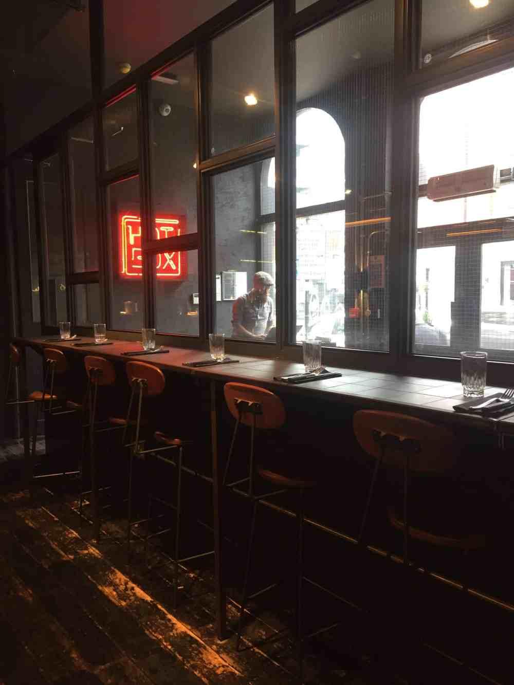 Hotbox restaurant in Shoreditch (1)