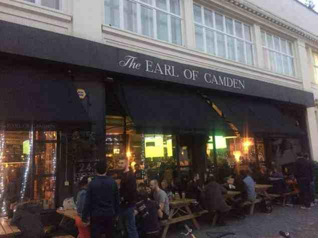 The Earl of Camden