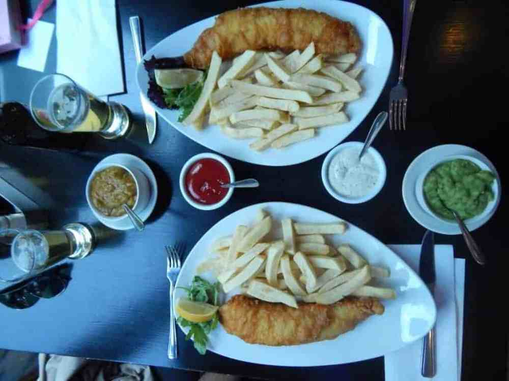 Fish and Chips in Fitzrovia (3)