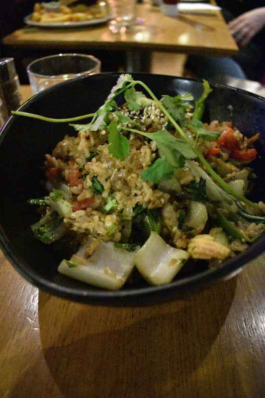 vegan restaurant in king's cross