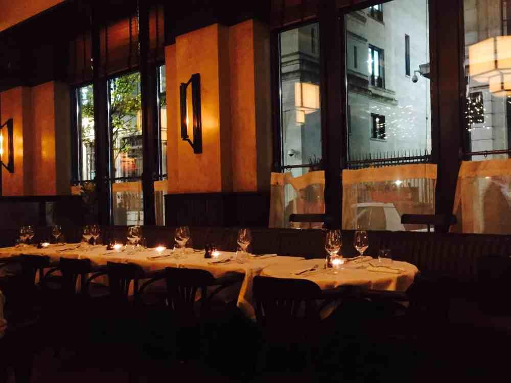 Brasserie in St Paul's