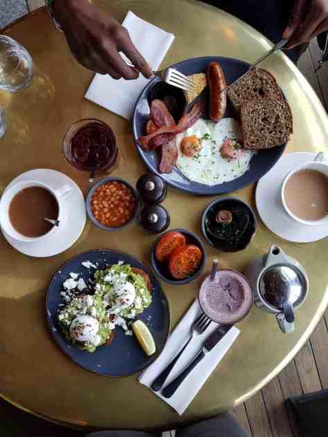 restaurant in King's Cross