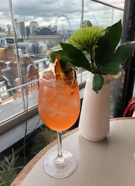 rooftop bar in london