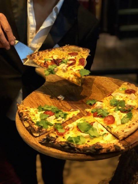 Pizza in St Paul's