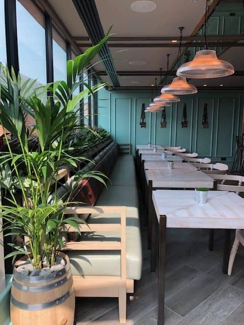 rooftop restaurant in london