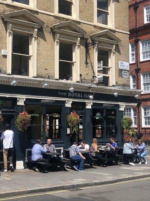 pub in marylebone