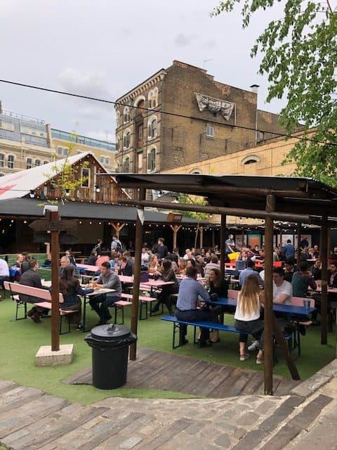 london street food