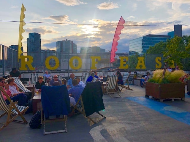 rooftop bar in stratford