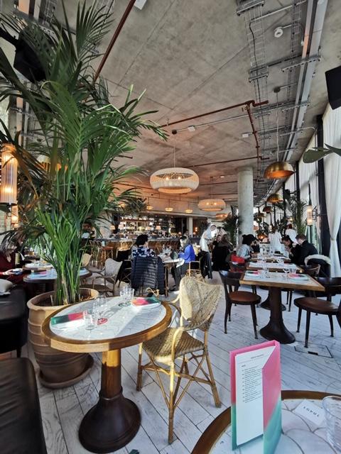 rooftop restaurant in southwark
