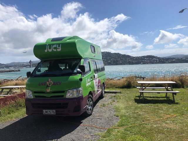 campsite in wellington