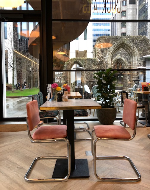cafe in barbican