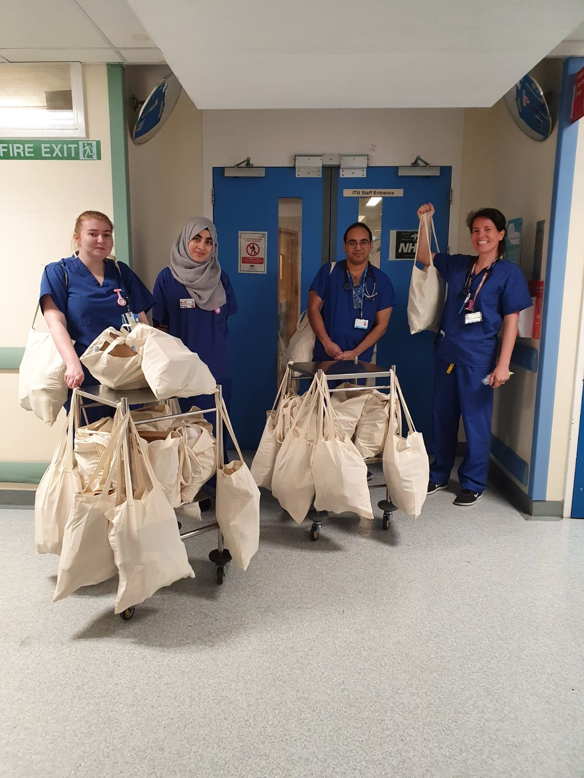 care packages for the NHS