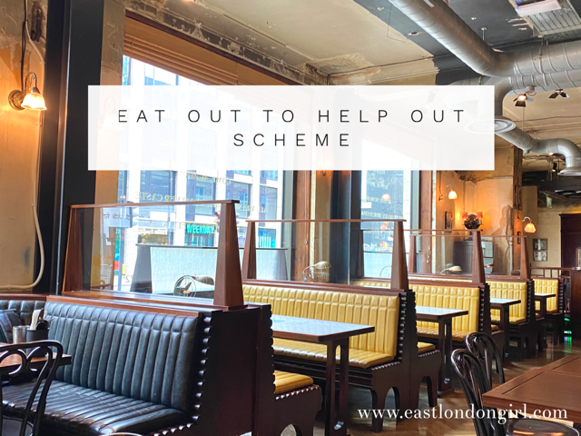 Eat Out to Help Out Scheme London