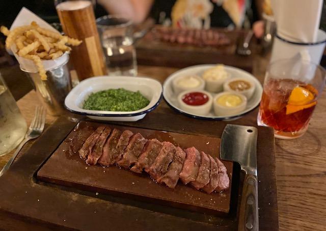 steak restaurant in spitalfields