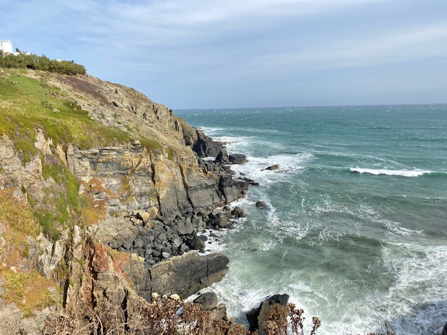 walk from lizard point to kynance cove