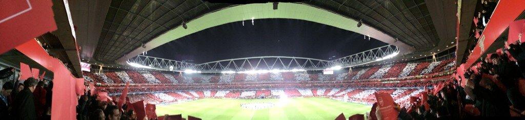Arsenal v Bayern mosaic