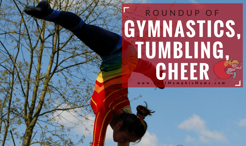 Memphis Gymnastics Lessons - Tumbling, Cheer, and Baton Too!