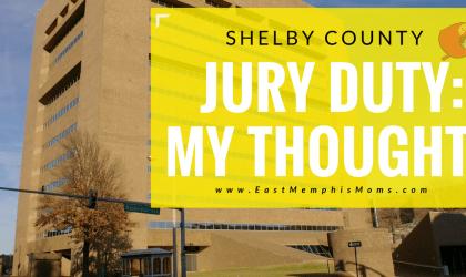 Shelby County Jury Duty – My Experience