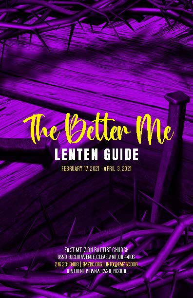 Better Me Lenten Guide 2021