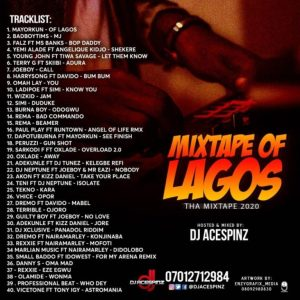 "Dj Ace Spinz – ""Mixtape Of Lagos mp3 download"