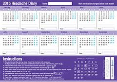 headache diary