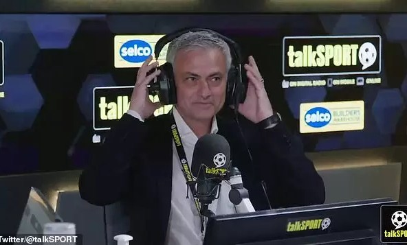 Photo of Jose Mourinho is BACK! Now PHONE-IN HOST for talkSPORT at Euro 2020