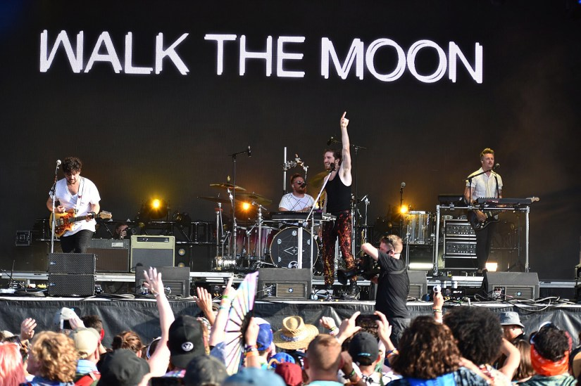 Walk the Moon Bonnaroo 2019 for East of 8th