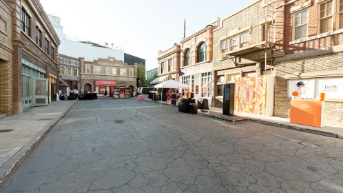 East of Ellie, an events co. Beauty Prestige Group Market Place @ New York Street, Paramount Studios