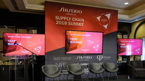 East of Ellie, an events co. Shiseido Supply Chain @ New York Marriott East Side