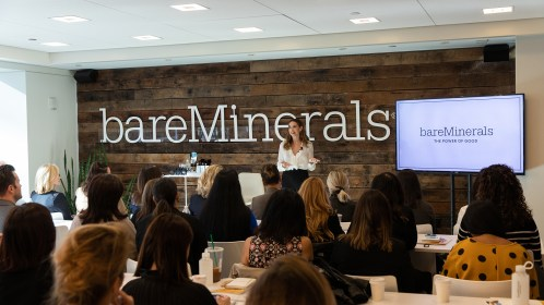 East of Ellie, an events co. bareMinerals Train the Trainer @ Citco Gateway