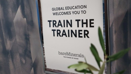 East of Ellie, an events co. bareMinerals Train The Trainer @ New York City