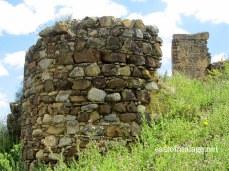 Zalia castle near Zafarraya Pass, Spain