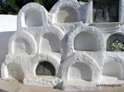 The Round Cemetery, Sayalonga, Spain