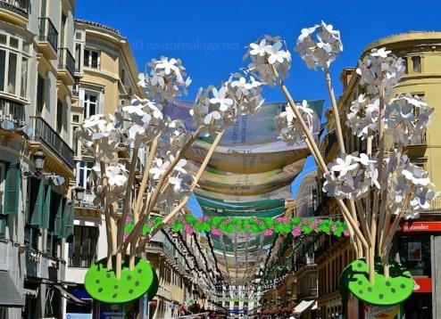 Entrance to Calle Marquis de Larios, Malaga